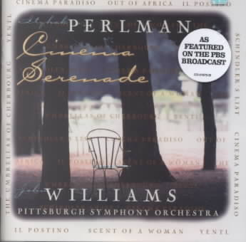 CINEMA SERENADE BY WILLIAMS,JOHN & PSO (CD)